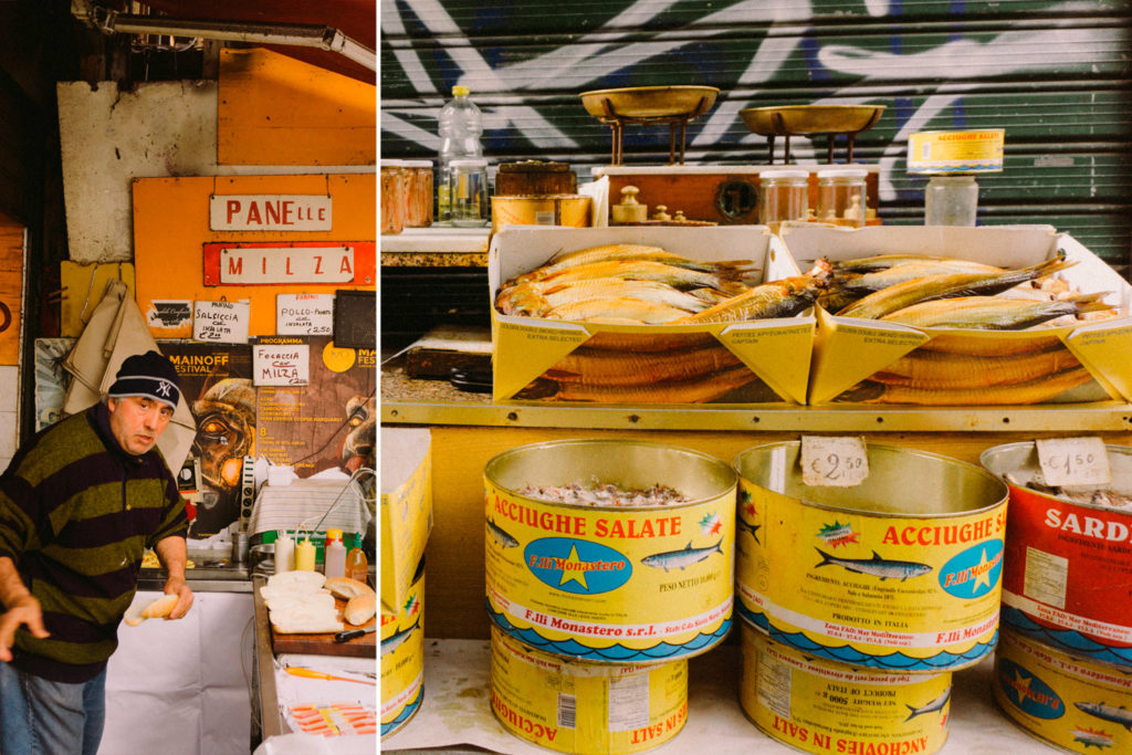 Vucciria market in Palermo