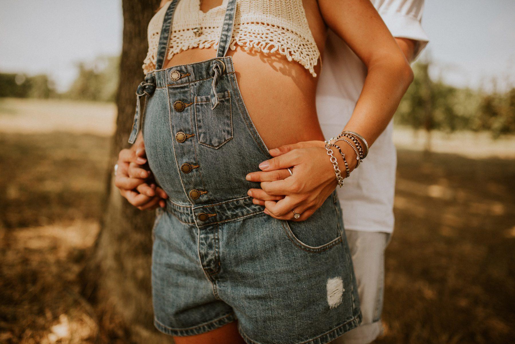 Salopette per mamma in gravidanza