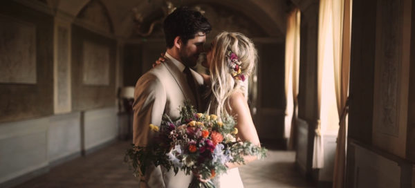 Wedding film at Castello di San Sebastiano